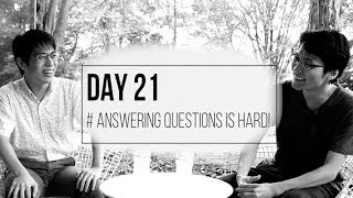 【Quantum Course】Answering to questions is hard!【Day21】