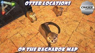 ARK Ragnarok: Otter Locations! Taming & Breeding!