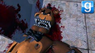 I KILLED NIGHTMARE FREDDY | Gmod Sandbox