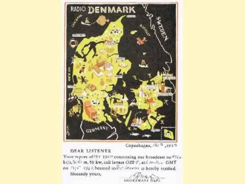 Radio Denmark QSL & Interval Signal