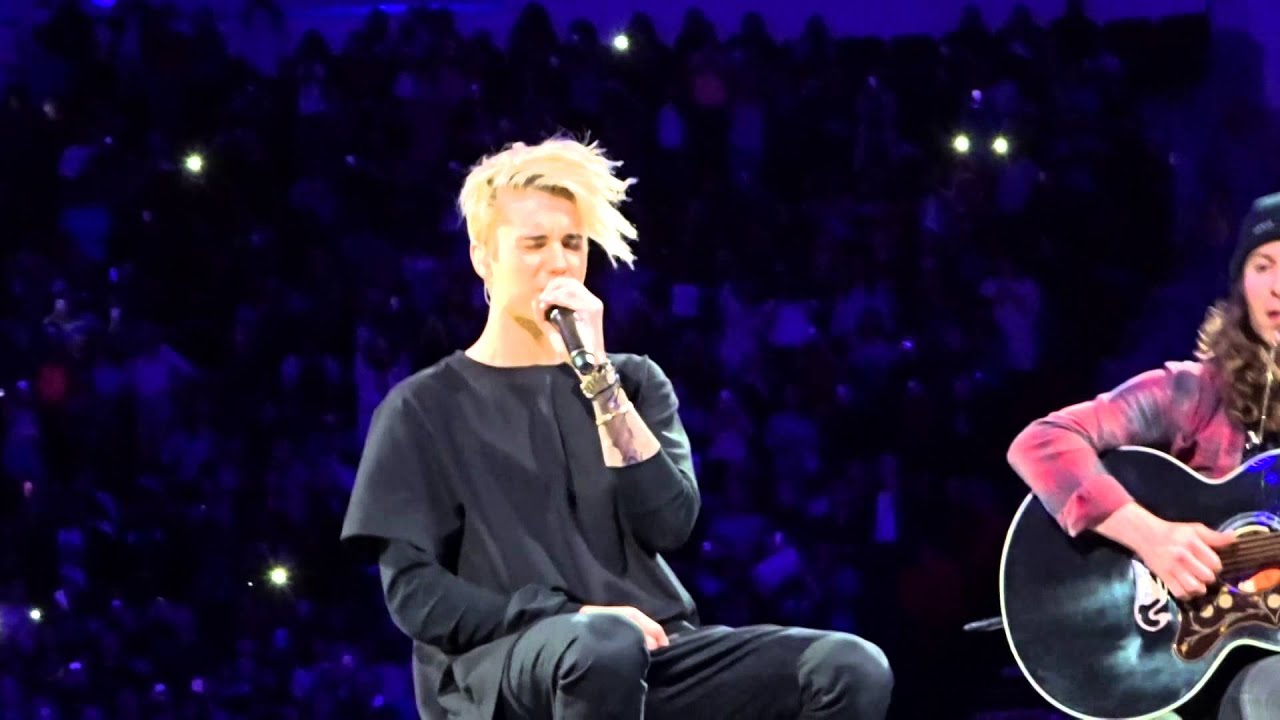 Love Yourself Justin Bieber Houston, Tx 11.19.15 - YouTube