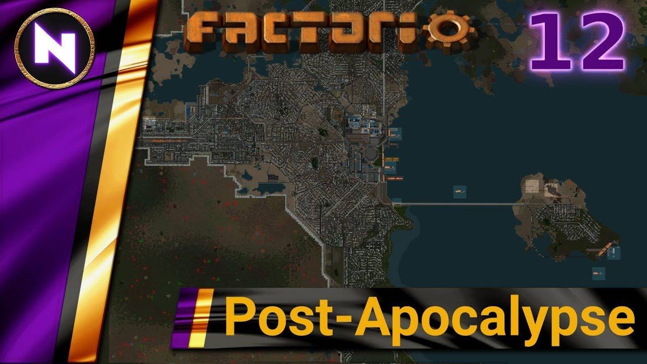 Factorio Post-Apocalypse #12 PETROLEUM PRODUCTS
