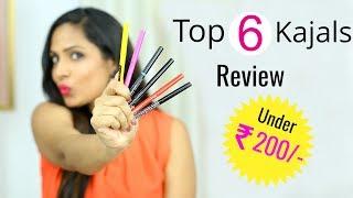 Top 6 Kajal Pencils Under ₹200/- | Shruti Arjun Anand