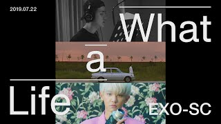 "EXO-SC 세훈&찬열 ""What a life"" Triple Title MV Trailer"