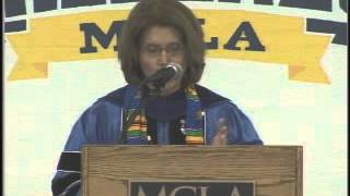 President Grant, 2014 MCLA Commencement Charge Thumbnail