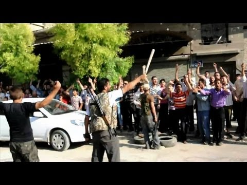 Free Syrian Army attacks police station in Aleppo