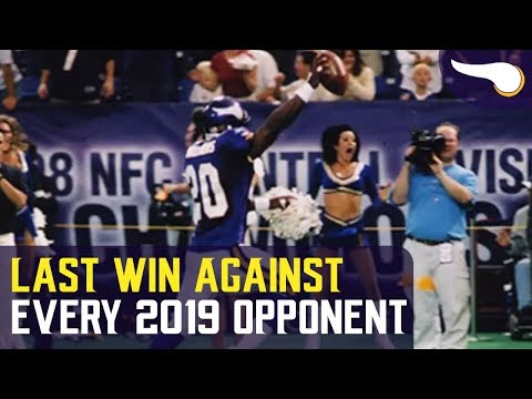 The Last Vikings Win Against Every 2019 Opponent