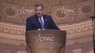 CPAC 2014 - Gov. Chris Christie (R-NJ)