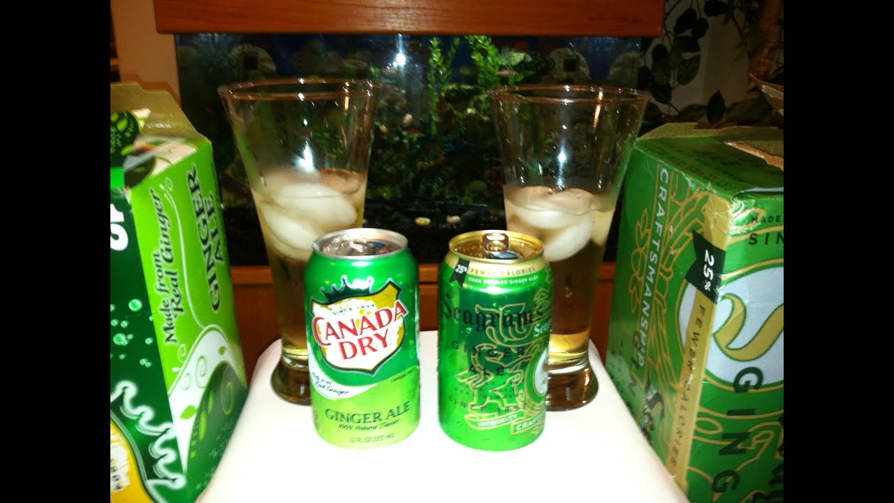 Top 5 Best Ginger Ale Brands - YouTube