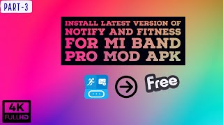 Install PRO MOD APK Of Notify And Fitness For Mi Band PRO MOD APK    Part 3     Latest Version    screenshot 5