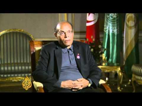 Al Jazeera interviews Tunisia's president Moncef Marzouki