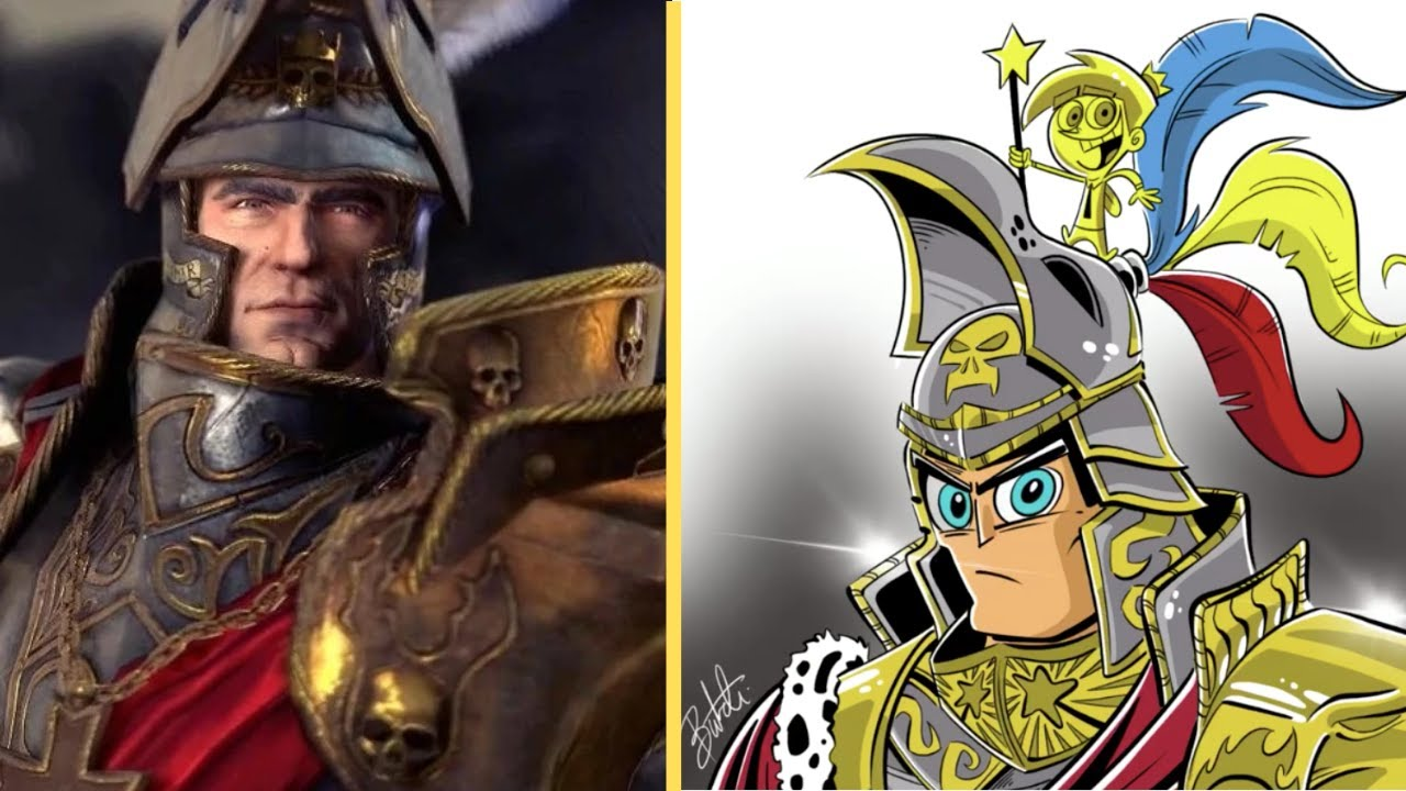 Warhammer Lords as Fairly Odd Parents Characters? Feat. MilkandcookiesTW