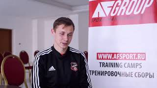 Dmitry Efremov interview after transfer to Russian Premier League FC Ural