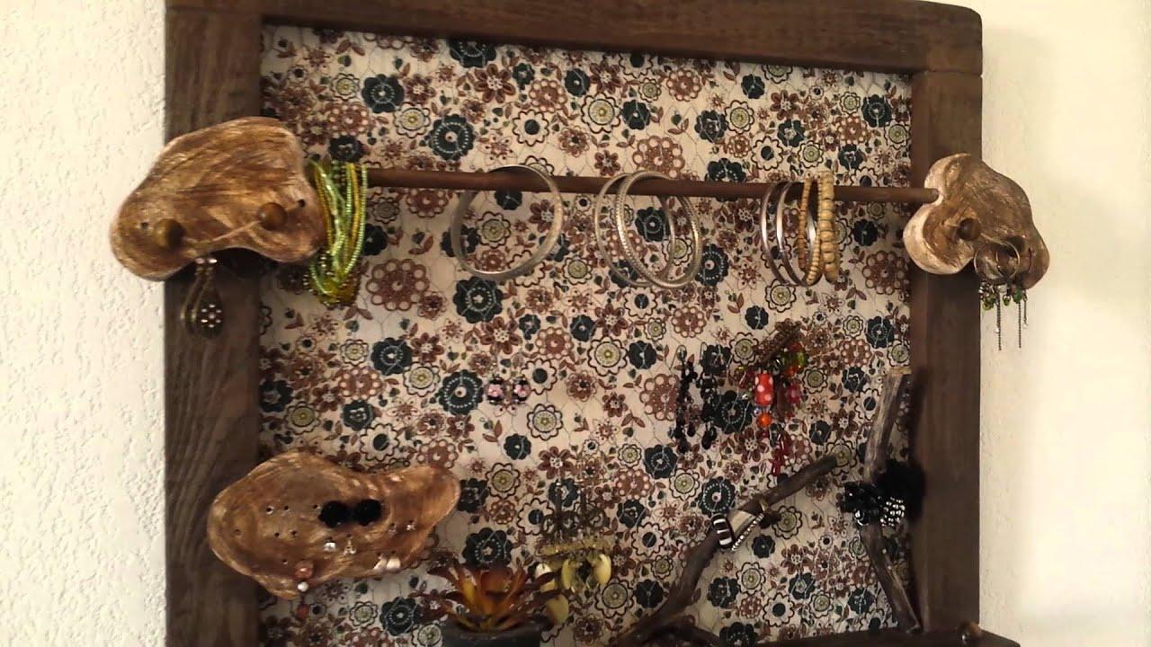 porte bijoux youtube. Black Bedroom Furniture Sets. Home Design Ideas