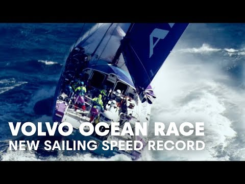 Setting A New Sailing Speed Record | Volvo Ocean Race Raw Pa