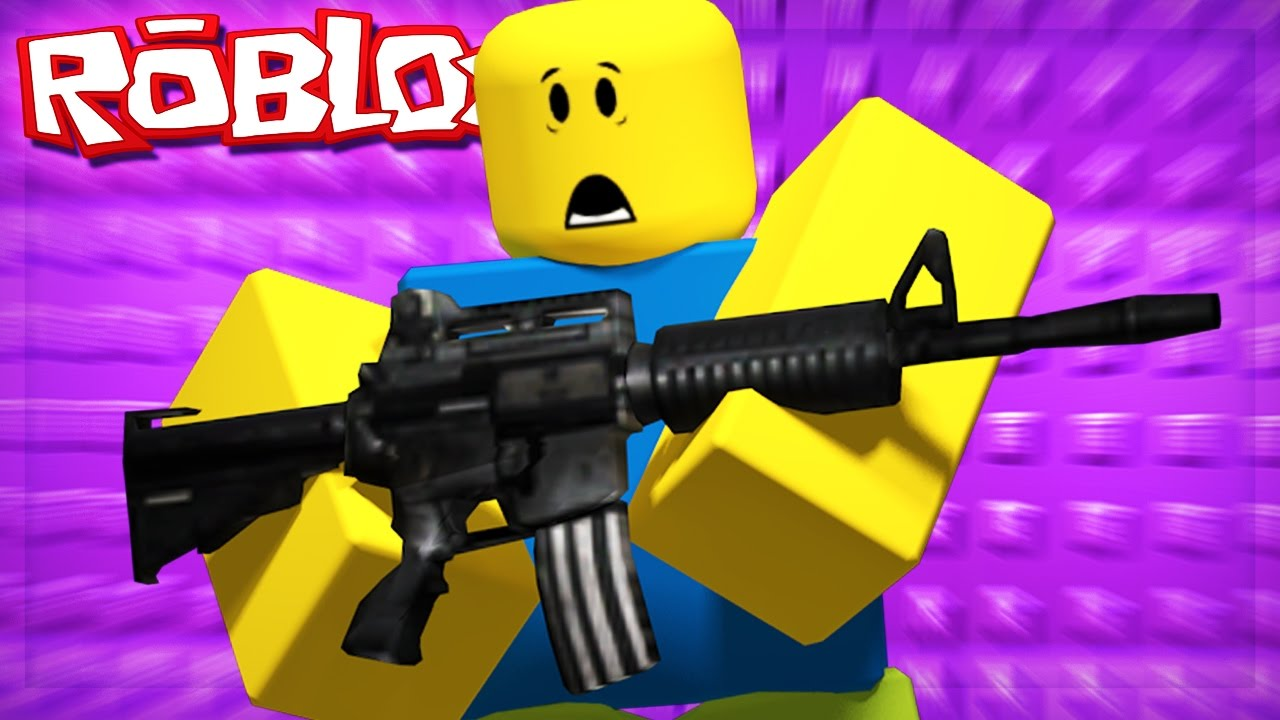 gun games on roblox