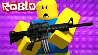 if there were guns in roblox