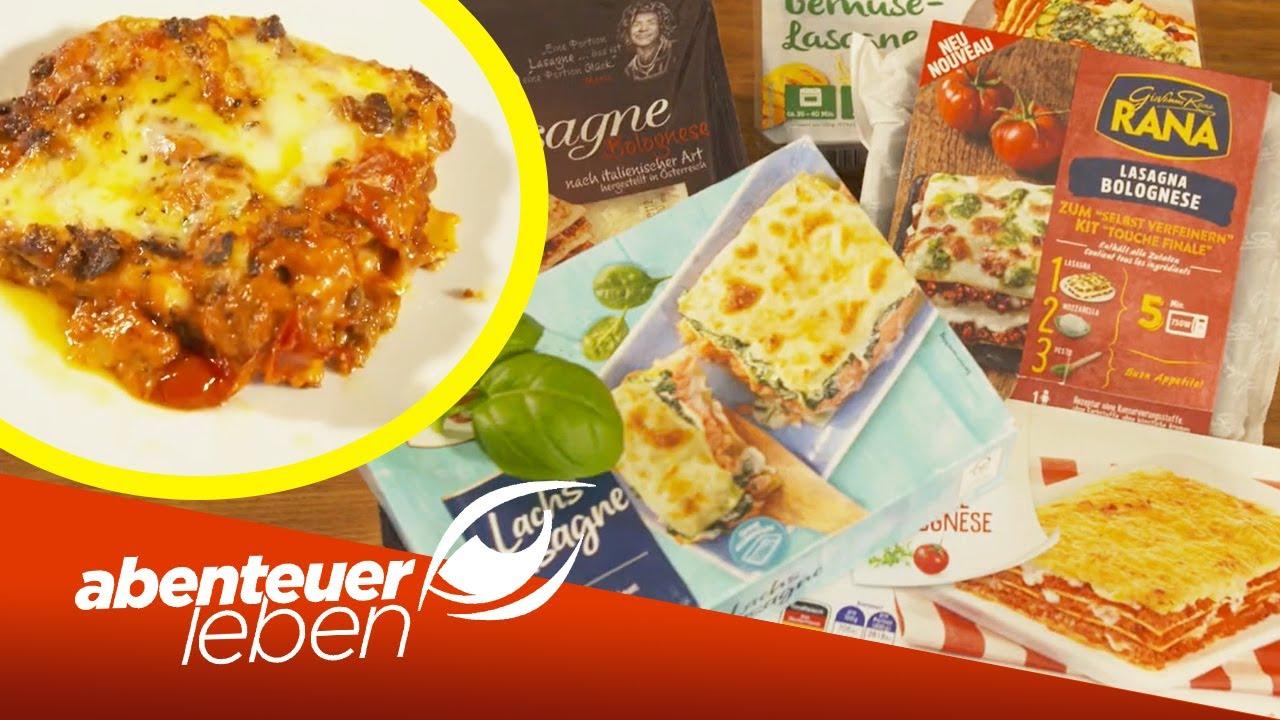 Schnell, einfach & lecker Was taugt die Lasagne aus dem Supermarkt    Abenteuer Leben   Kabel Eins