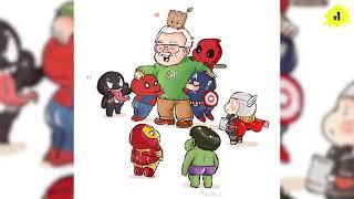 his top 50 appearances Stan lee in Marvel drawings