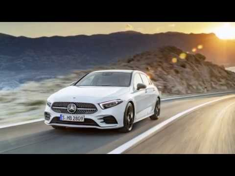 [Hot news] 2018 Mercedes Benz A-Class aims higher for compact luxury cars