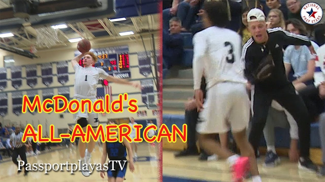 5383f38fb898 Nico Mannion GOES OFF   WELCOMES Pinnacle s NEWEST Splash Brother ...