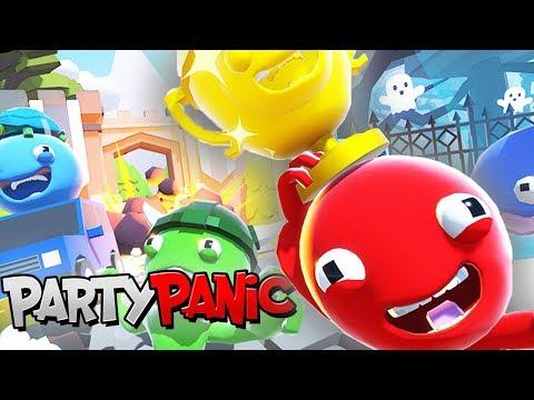 УГАР ДО БОЛИ! ПОТНАЯ БИТВА ДРУЗЕЙ! КТО ЖЕ ПОБЕДИЛ?! ► Party Panic (Мини игры,Угар)