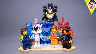 PRESENTE DE UMA AVENTURA LEGO 2 E ROBLOX - Unboxing & Review BR