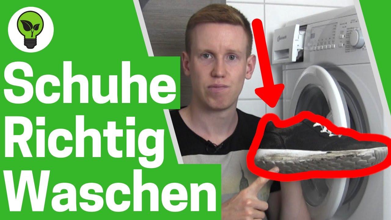 Waschmaschine ReinigenPutzenamp; Ultimative ✅ AnleitungTurnschuhe In Waschen Machen Schuhe Sauber K1cTlFJ
