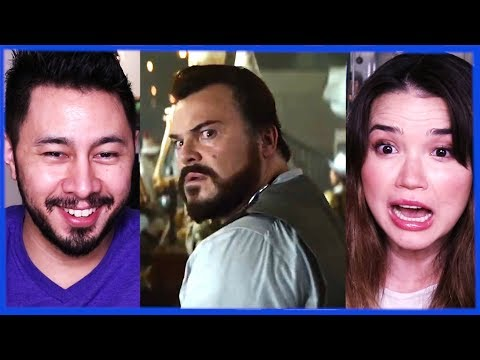 THE HOUSE WITH A CLOCK IN ITS WALLS   Jack Black   Trailer Reaction!