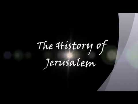 History of Jeruselam and how it got to this state ABU TAUBAH