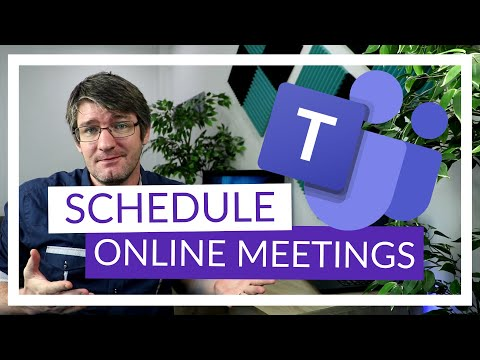 How to Schedule in Microsoft Teams