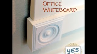Diy: How To Build An Office Whiteboard For Under $52