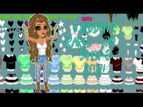 Hidden rares on msp 2017! | Stuff you didnt know gone rare! |