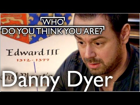 Danny Dyer Finds Out He's Related To King Edward III | Who Do You Think You Are
