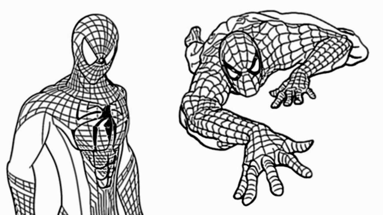 Uncategorized Drawings Of Spider Man the amazing spiderman how to draw spider man video youtube