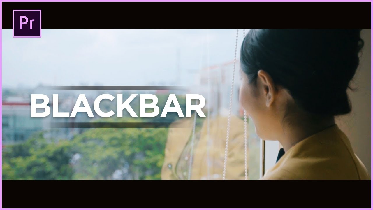 how to add black bars in premiere