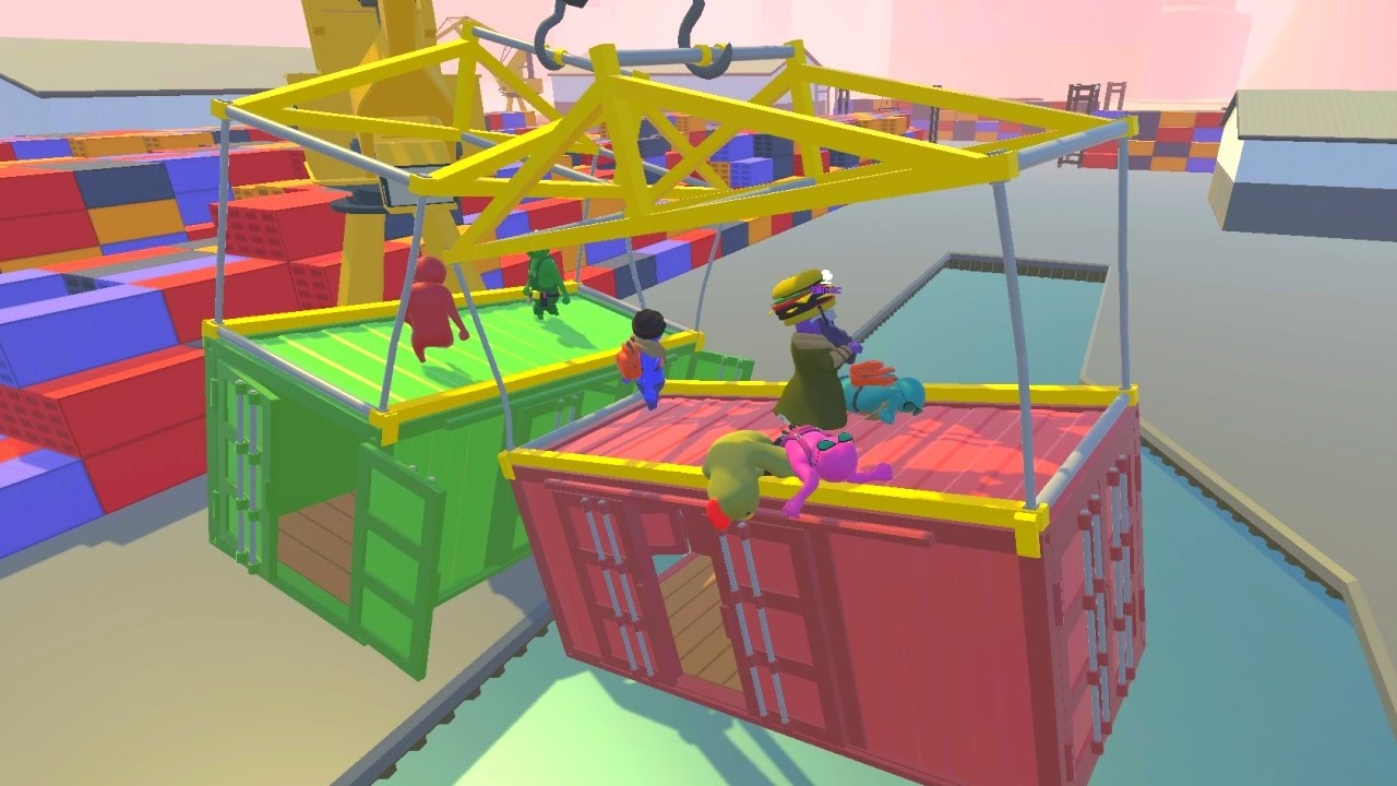 Gang Beasts Maps NEW MAPS!   GANG BEASTS   YouTube