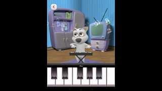 Говорящая собака - Играем на пианино -  My Tilking Dog - Android GamePlay