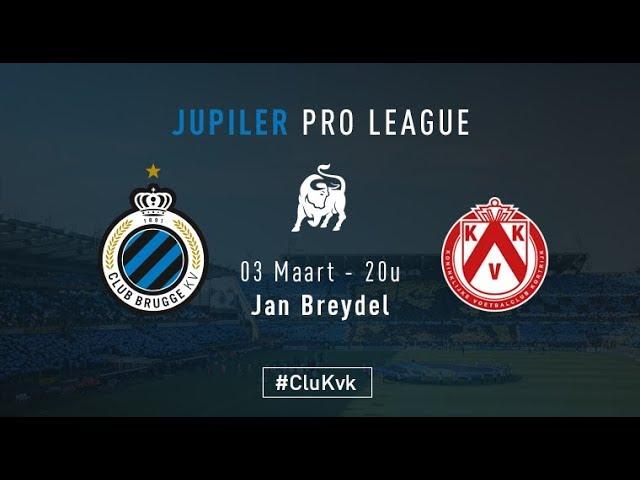 CLUB BRUGGE - KV KORTRIJK | Matchverslag | 2017-2018