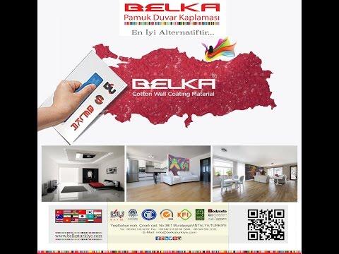 BELKA  Smart &  NATURAL WALL COATING MATERIAL solution