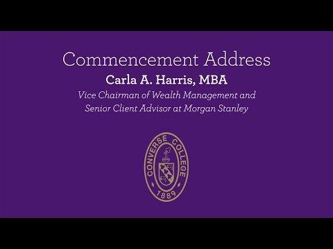 Commencement Address - Undergraduate Graduation 2019 - Carla A  Harris, MBA