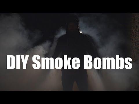 DIY Smoke Bombs - 19 January 2018 - Deadlance Steamvlog