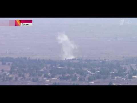Правительственные силы Сирии сбили самолет ВВС Израиля, нарушивший воздушное пространство республики