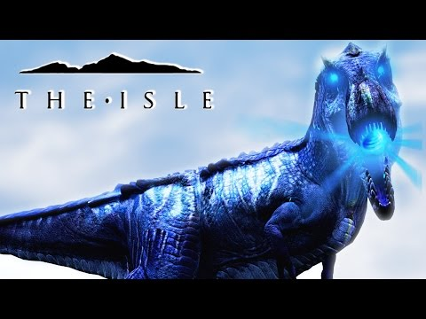 The Isle - GODLY HYPO REX HAS ATOMIC BREATH & EARTH SHAKING ROARS, NEW AI & REALISM PROG - Gameplay