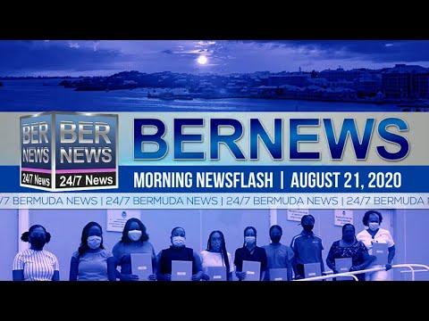 Bermuda Newsflash For Friday, Aug 21, 2020
