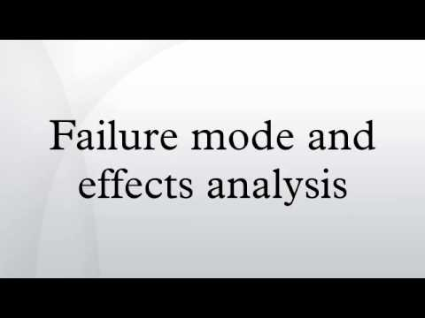 Failure mode and effects analysis - YouTube