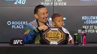 UFC 240׃ Главные моменты пресс-конференции