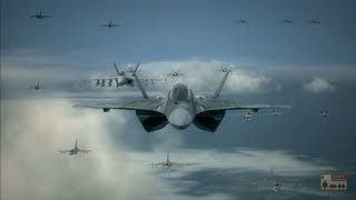 Ace Combat 6 Mission 1 Invasion of Gracemeria Ace of Aces