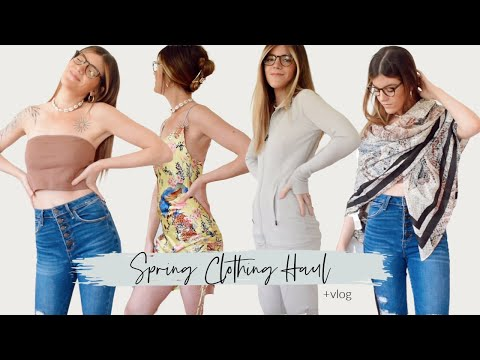 SPRING CLOTHING HAUL & VLOG || Lexi Dawn