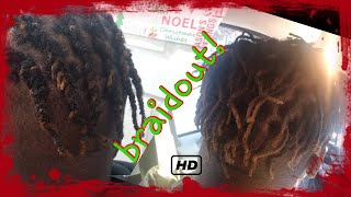 Brotherlock journey braid out